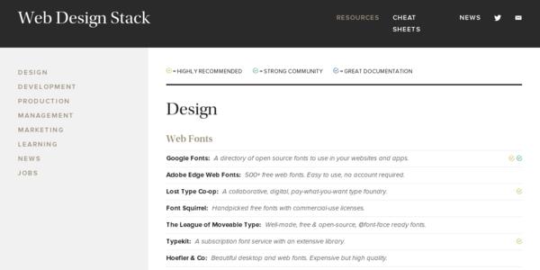Web Design Stack: Información Variada Sobre El Mundo Del Desarrollo Y El Diseño