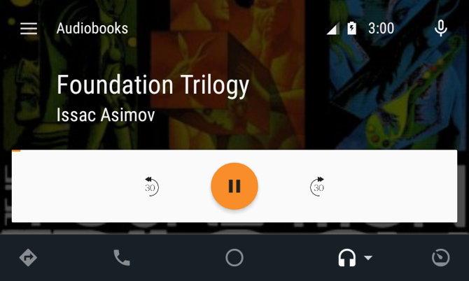 Audiobooks android auto