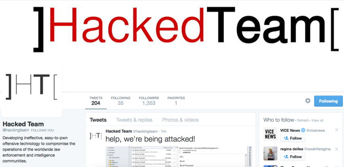 Hacking Team hackeado: Vía Motherboard
