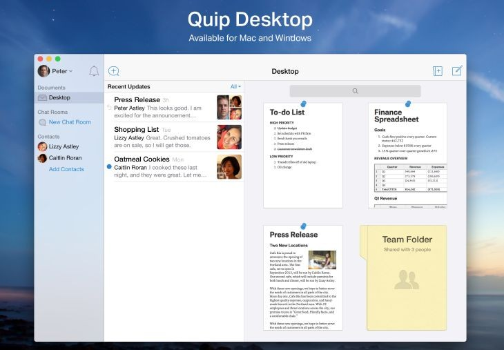 Quip-Desktop