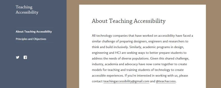 TeachingAccesibility