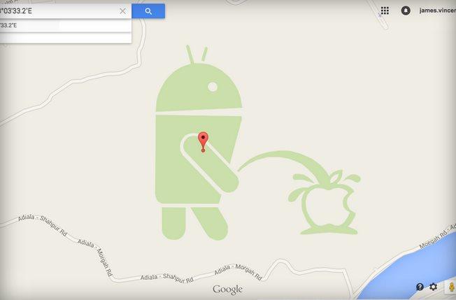 La imagen de broma que pudo causar el cierre de Maps Maker
