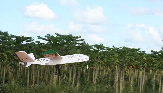 Dron Nauru, usado por ICMBio (Foto: ICMBio)