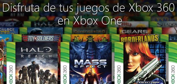 Retrocompatibilidad Xbox One