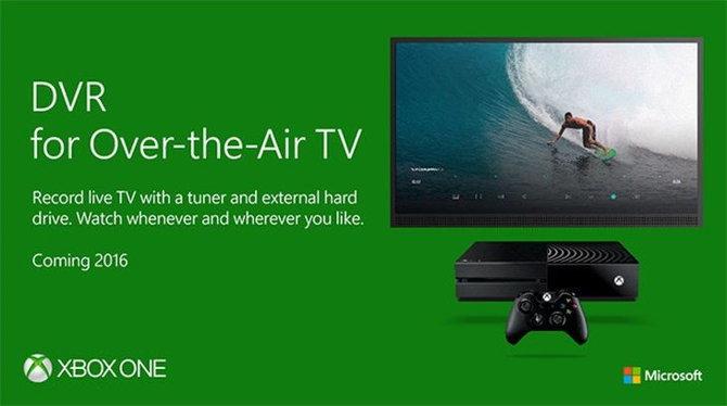 Xbox one DVR