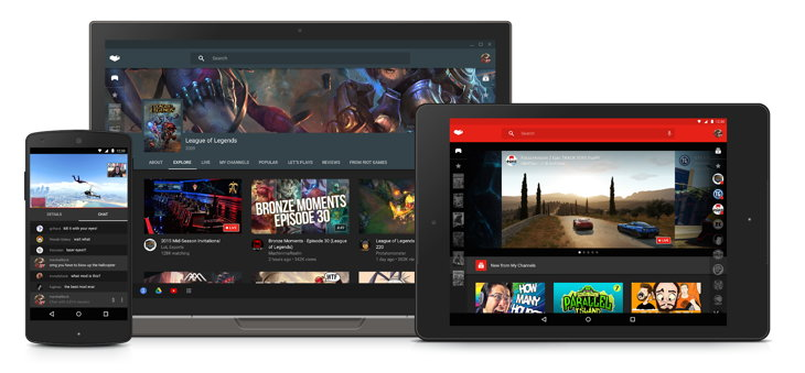 YouTube Gaming, la competencia de Twitch ya disponible