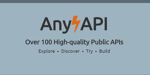 AnyAPI: Collección De Mas De 100 APIs Públicas.
