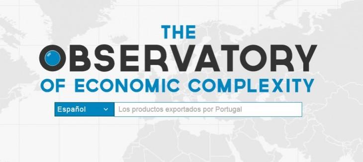 OEC, un buscador de datos de comercio internacional