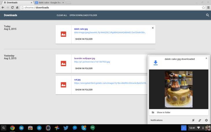 Nueva página de descargas de Chrome - OMG!Chrome!