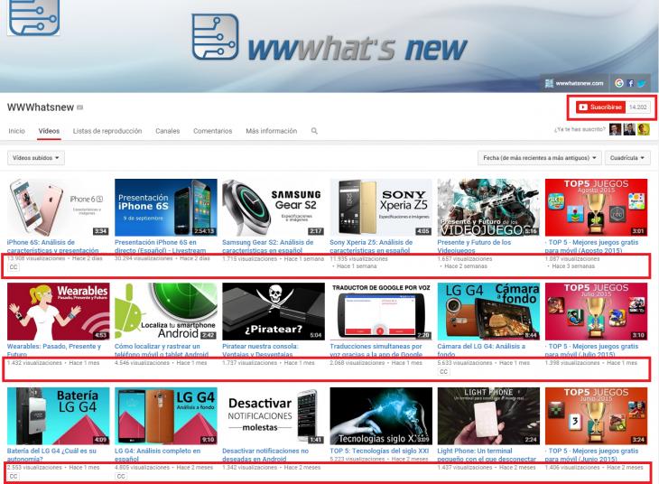wwwhatsnew Youtube