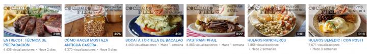 El Cocinero Fiel Youtube
