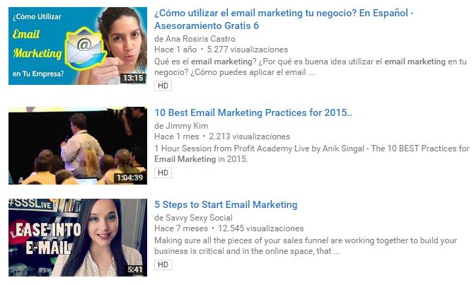 Errores de Youtube Habituales