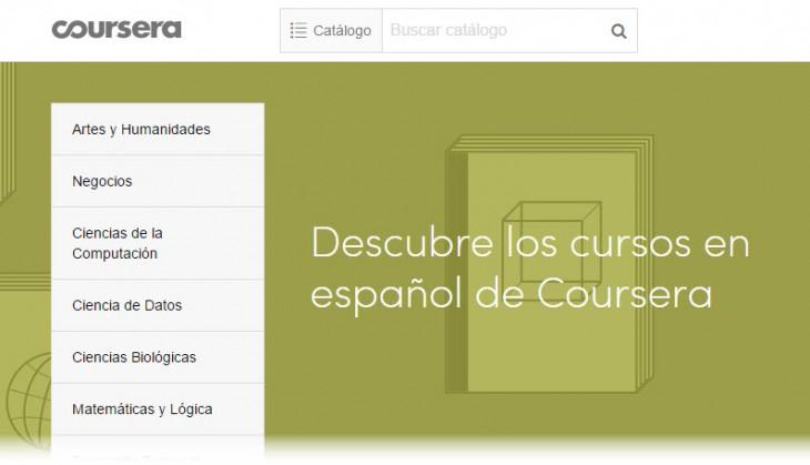 Coursera lanza más de 100 nuevos cursos en español y especializaciones