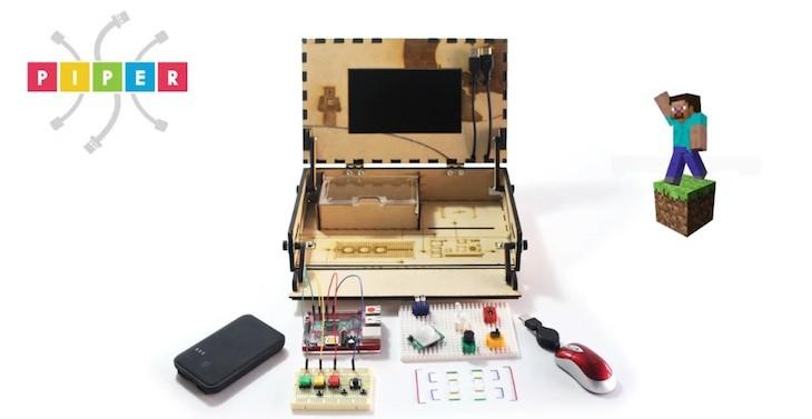 Piper, un kit para que los más pequeños aprendan electrónica mientras juegan a Minecraft