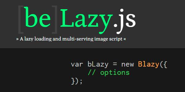 BeLazy.js: Un Snippet En JavaScript Para Carga Y Multi-Servicio De Imagenes