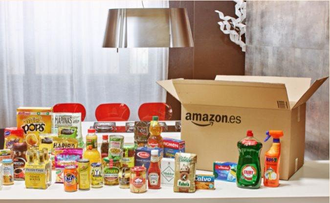 El supermercado de amazon llega a espa a con alimentos y for Productos limpieza coche mercadona