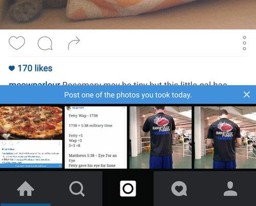 instagram fotos sugeridas