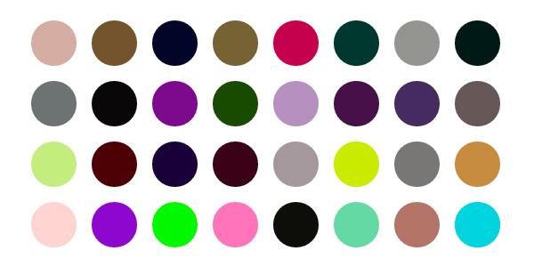 RandomColor.js: Una Librería Para Generación Aleatoria De Paletas De Color Por Categoría