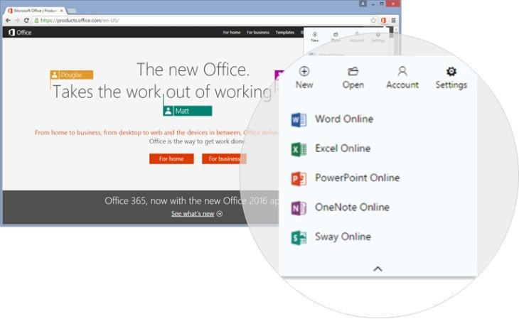ChromeExtOfficeOnline
