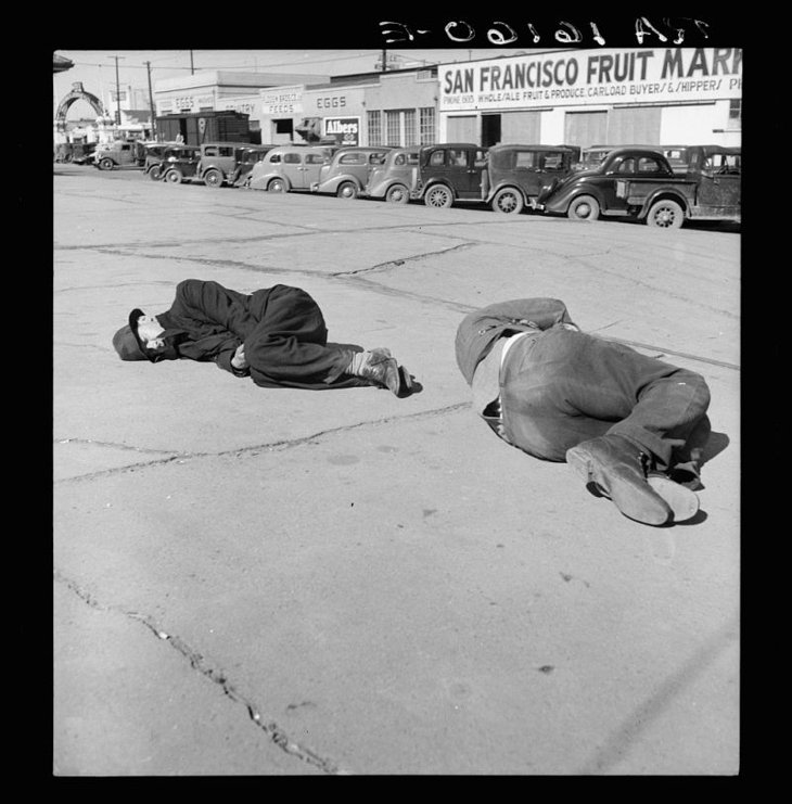 Fotografía de Dorothea Lange - 1937