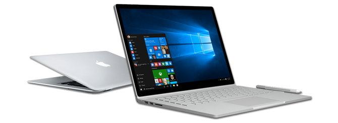 macbook vs surface