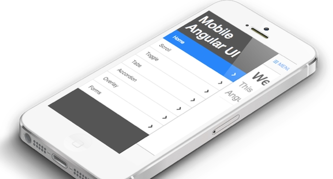 Mobile Angular: Framework De UI Apoyado En AngularJS
