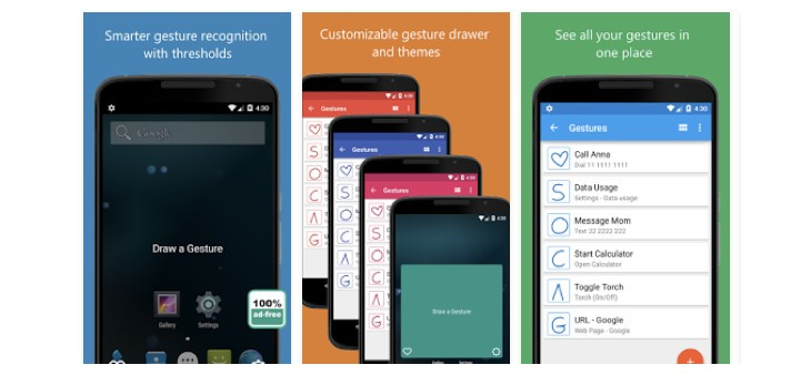 ClearView Gestures