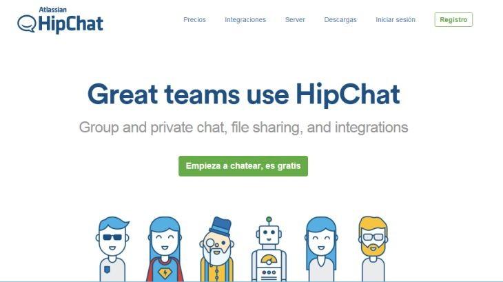 Hipchat se pone las pilas para competir con Slack en la comunicación ...