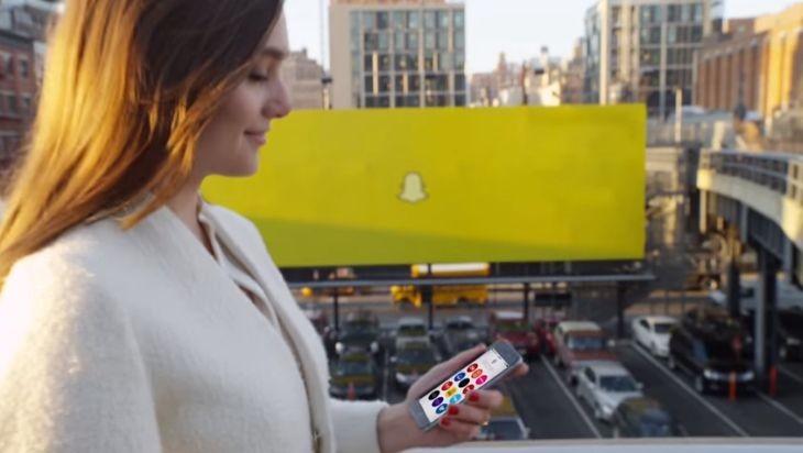 Imagen: Promo de Snapchat