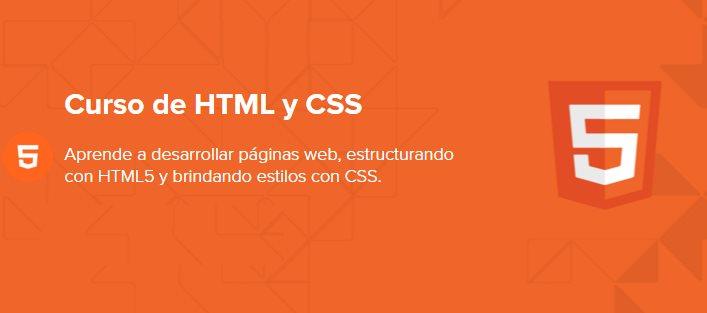 Nuevo curso online gratuito de HTML y CSS, en español