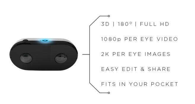LucidCam, para grabar contenido para VR