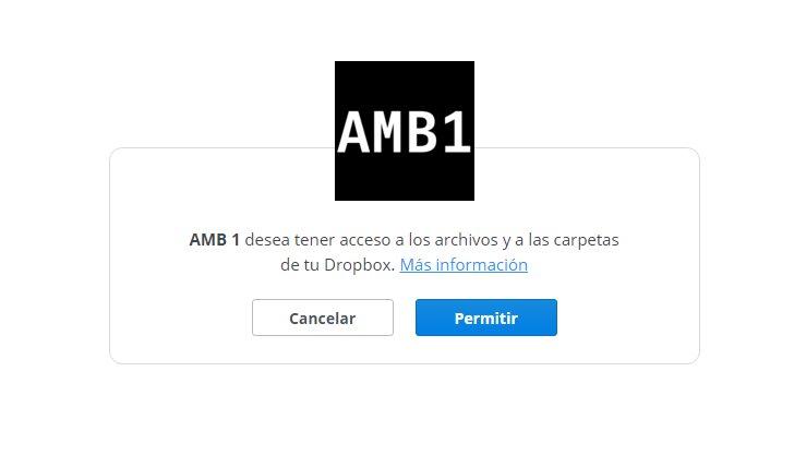 Permisos solicitados por AMB 1