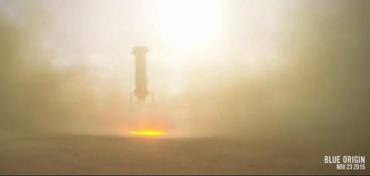Jeff Bezos, CEO de Amazon, crea cohete capaz de volver a la tierra sin daños