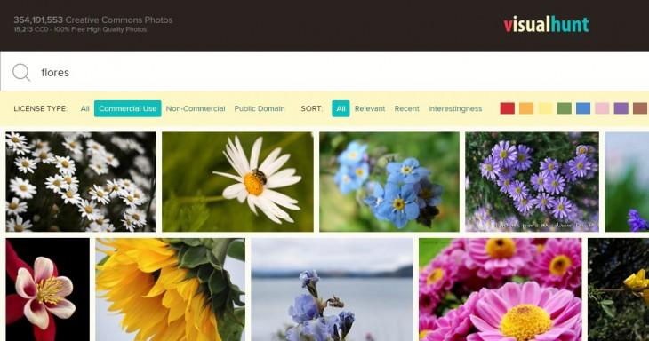 Resultado buscando por flores
