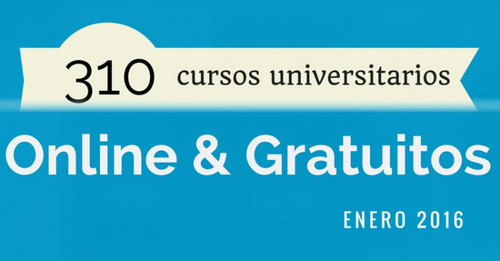 310 cursos universitarios, online y gratuitos que inician en enero
