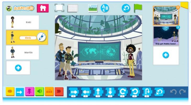 Nueva app para que los niños aprendan programación con juegos y cuentos interactivos