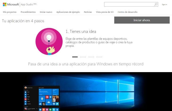 WindowsAppStudio
