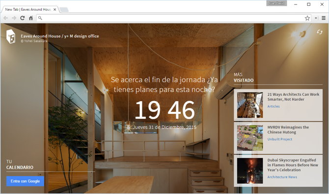 arquitectura chrome