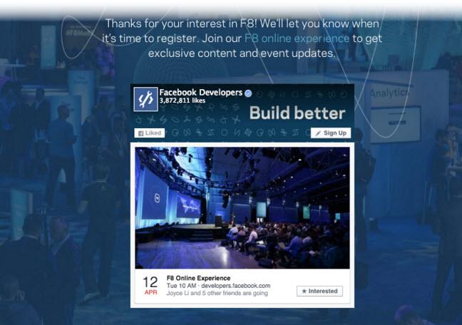 Facebook suma nuevas características a Page Plugin: mensajes y eventos