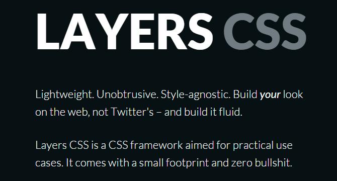 Layers CSS: Framework Para Desarollo Web