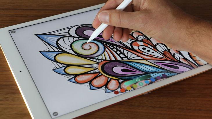 libro colorear ipad