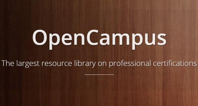 OpenCampus: La Libreria Mas Grande En Certificaciones Profesionales