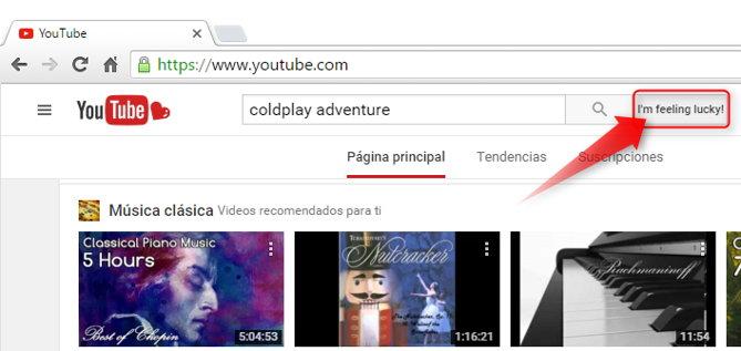 youtube saltarse resultados