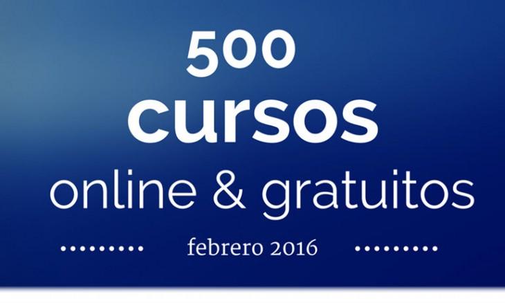 Cursos gratutitos - febrero 2016