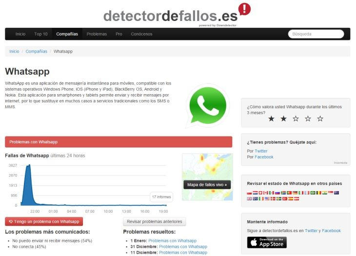 DetectorDeFallos