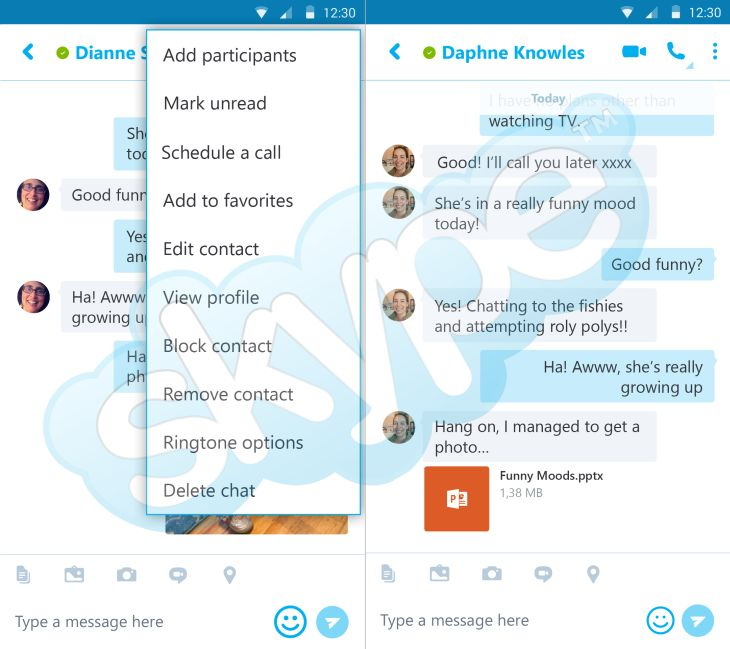 SkypeAndroid