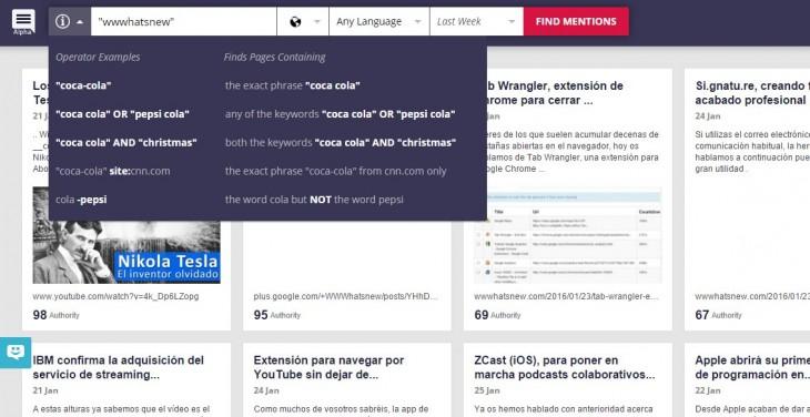 brandmentions, una nueva forma de monitorizar una marca en Internet