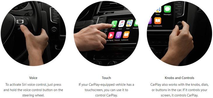funciones carplay apple
