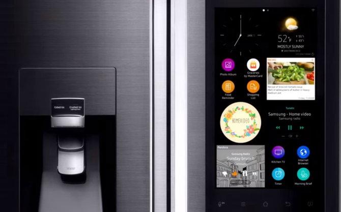 refrigerador inteligente samsung