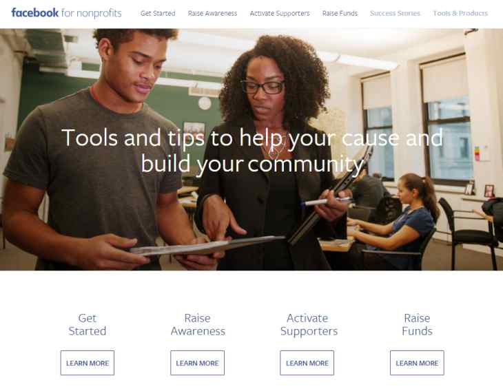 Facebookfornonprofits